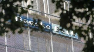 Les locaux de la branche estonienne de la Danske Bank se trouve en plein centre de Tallinn, la capitale de l'Estonie