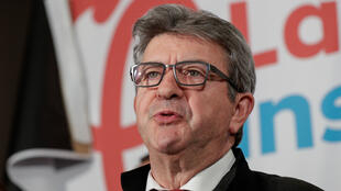 File photo of Jean-Luc Melenchon