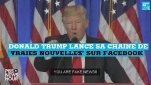 Donald Trump n'entretient pas de bonnes relations avec les médias.