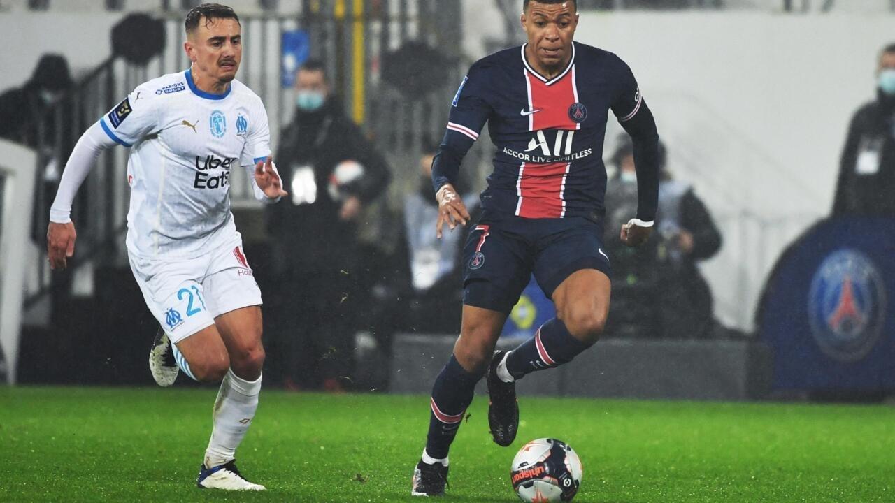 كرة القدم: باريس سان جرمان يفوز بكأس الأبطال الفرنسية أمام غريمه مرسيليا 2-1