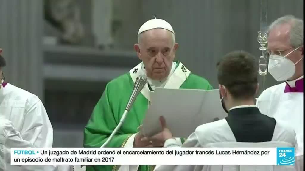 2021-10-13 19:08 Papa Francisco reconoce errores de la evangelización durante la época de la Conquista en América