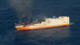 El buque ´Grande América´ se hundió a 333 kilómetros de la costa francesa de Bretaña y representa un peligro de contaminación en la zona