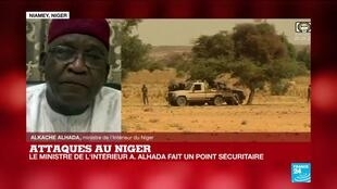 Alkache Alhada, ministre de l'Intérieur du Niger