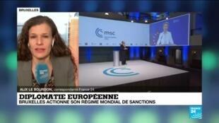 2021-02-22 10:33 Diplomatie européenne : Bruxelles actionne son régime mondial de sanctions