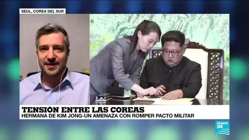 2021-03-16 13:35 Informe desde Seúl: Kim Yo-yong amenaza con romper pacto militar intercoreano