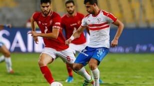 مباراة الأهلي والزمالك في ستاد برج العرب بالإسكندرية 28 يوليو/تموز 2019.