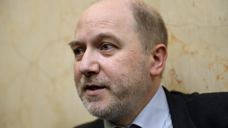 Denis Baupion, alors vice-président de l'Assemblée nationale, le 4 avril 2015.