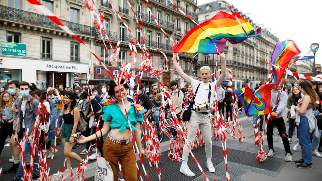 'Our pride is political': Thousands march in Paris for LGBT rights