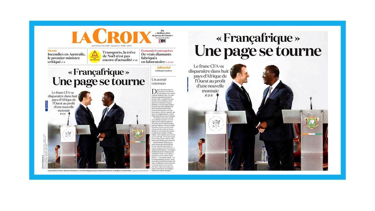Fin du franc CFA dans huit pays d'Afrique de l'ouest