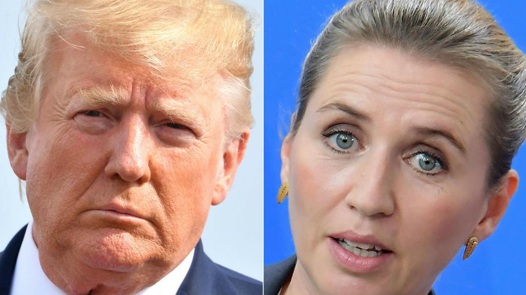 La primera ministra de Dinamarca, Mette Frederiksen (izquierda) y el presidente de Estados Unidos, Donald Trump (derecha) ya no se reunirán en septiembre