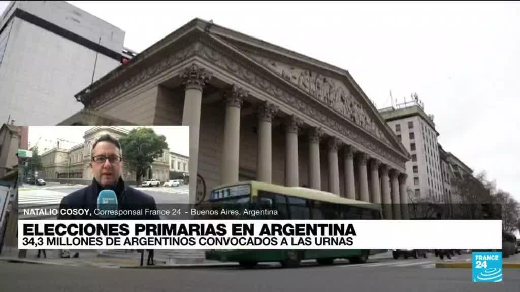 2021-09-12 14:01 Informe desde Buenos Aires: elecciones primarias con fuertes medidas de bioseguridad