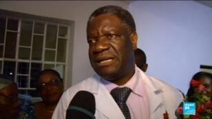 Le gynécologue congolais Denis Mukwege, co-lauréat du prix Nobel de la Paix 2018.