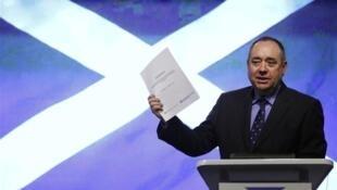 Le Premier ministre indépendantiste écossais, Alex Salmond.