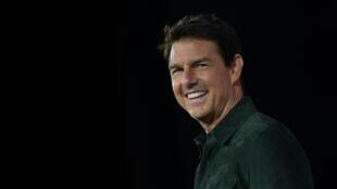 L'acteur américain Tom Cruise à San Diego en juillet 2019