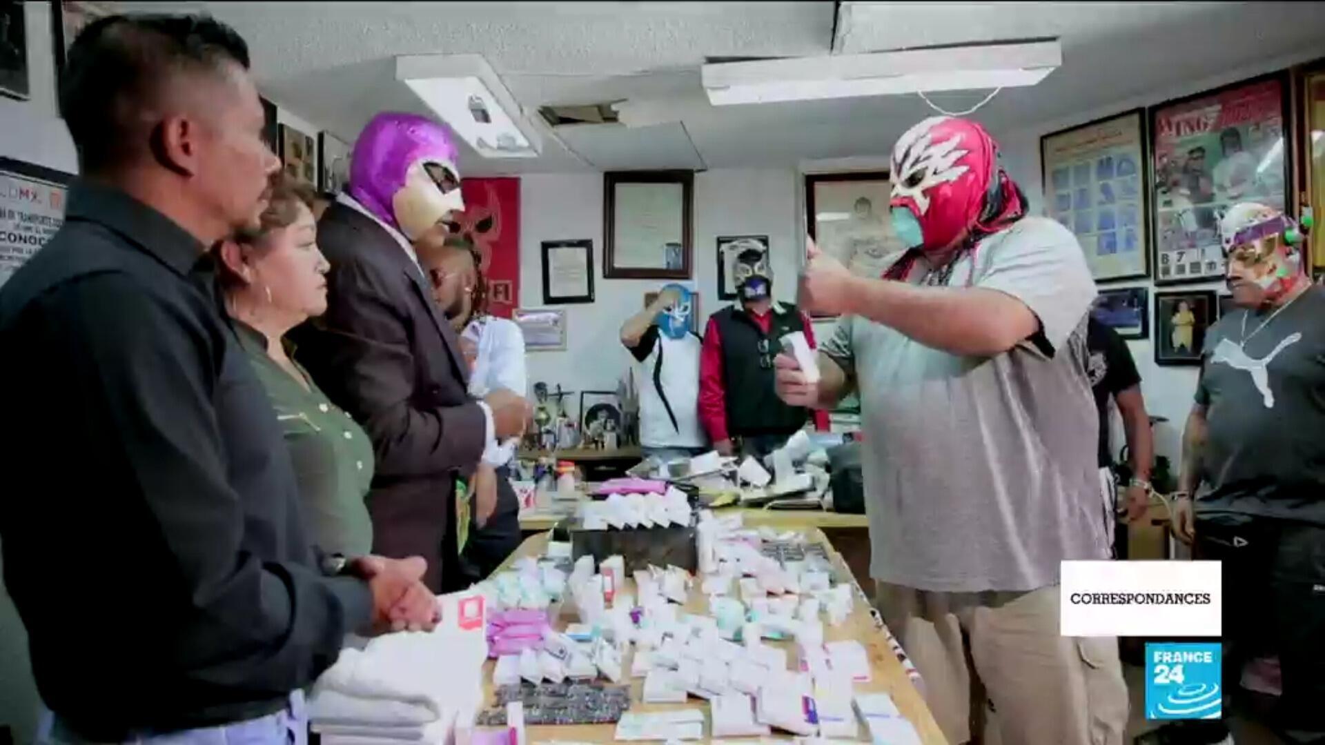 Correspondances Lucha libre mexique