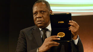 Le président intérimaire de la Fifa Issa Hayatou.