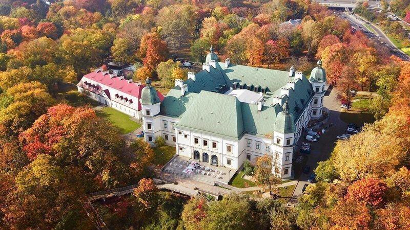 château d'Ujazdowski, à Varsovie