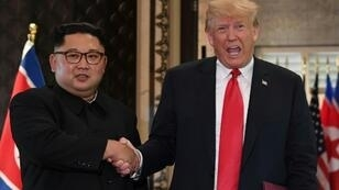 """President Donald Trump said he received a """"beautiful letter"""" from Kim Jong Un as the United States asked a UN sanctions committee to hald fuel shipments to North Korea"""