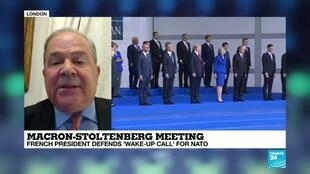 2019-11-28 22:04 Macron-Stoltenberg meeting : French president defends 'wake-up call' for NATO