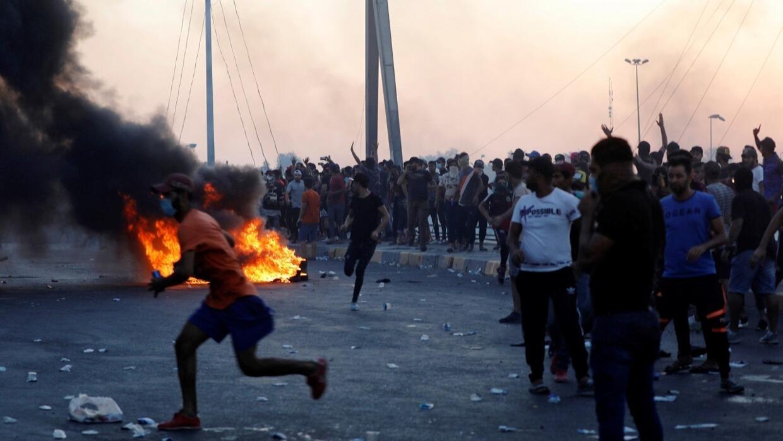 السيستاني يحمل الحكومة العراقية والأجهزة الأمنية مسؤولية مقتل العشرات خلال الاحتجاجات