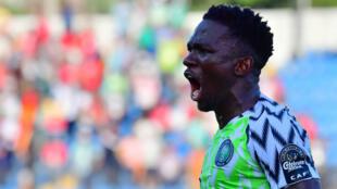 Kenneth Omeruo a qualifié le Nigeria grâce à un but face à la Guinée mercredi 26 juin.