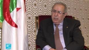 صورة أرشيفية لنائب رئيس الوزراء الجزائري رمطان لعمامرة
