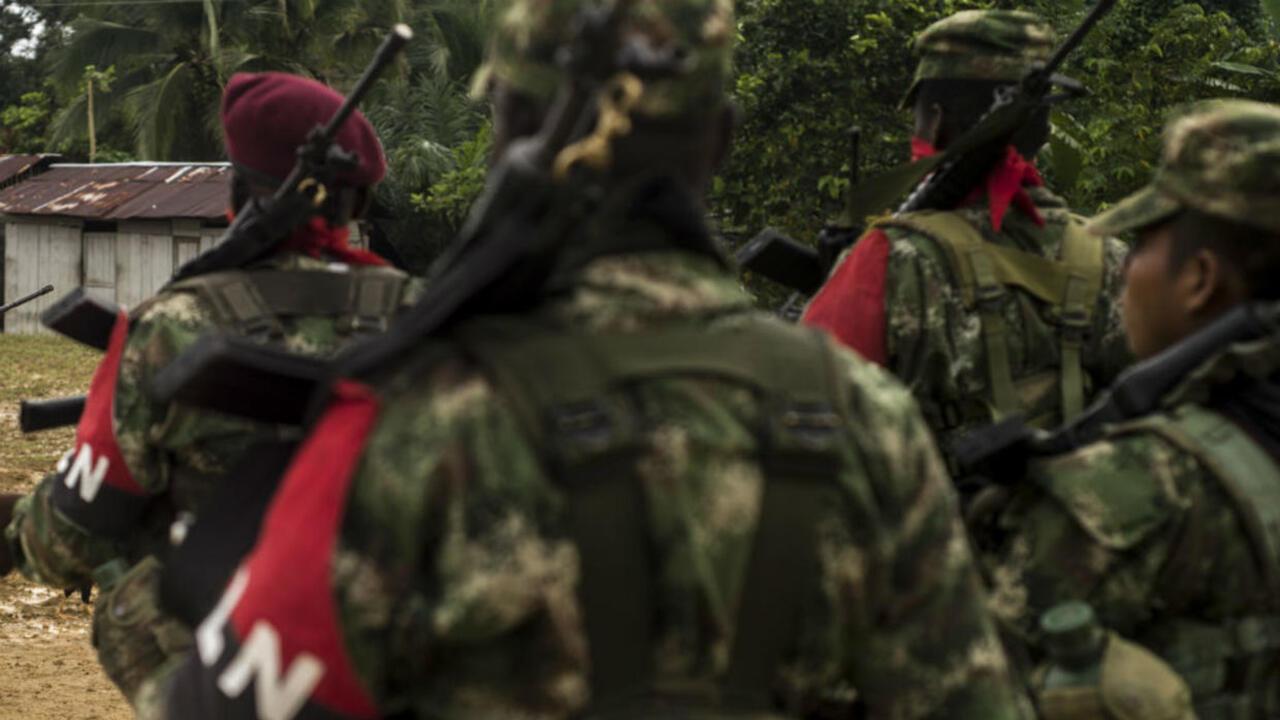 Foto de archivo de la guerrilla colombiana Ejército de Liberación Nacional (ELN).