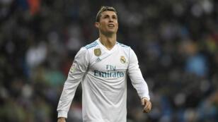 Cristiano Ronaldo, lors de la défaite du Real Madrid contre Villarreal (1-0).
