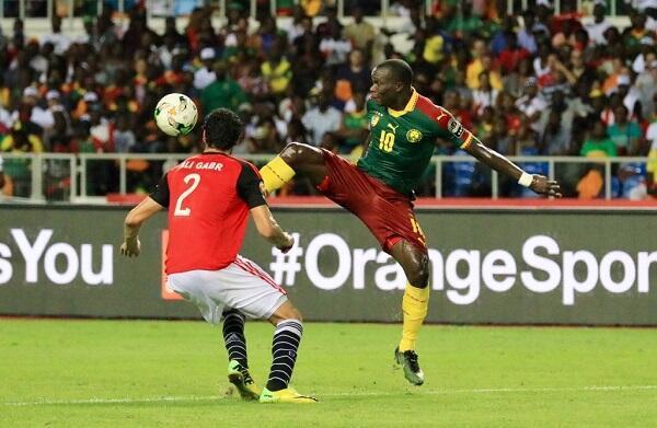 لقطة من نهائي كأس الأمم الأفريقية 2017 بين الكاميرون ومصر (2-صفر)