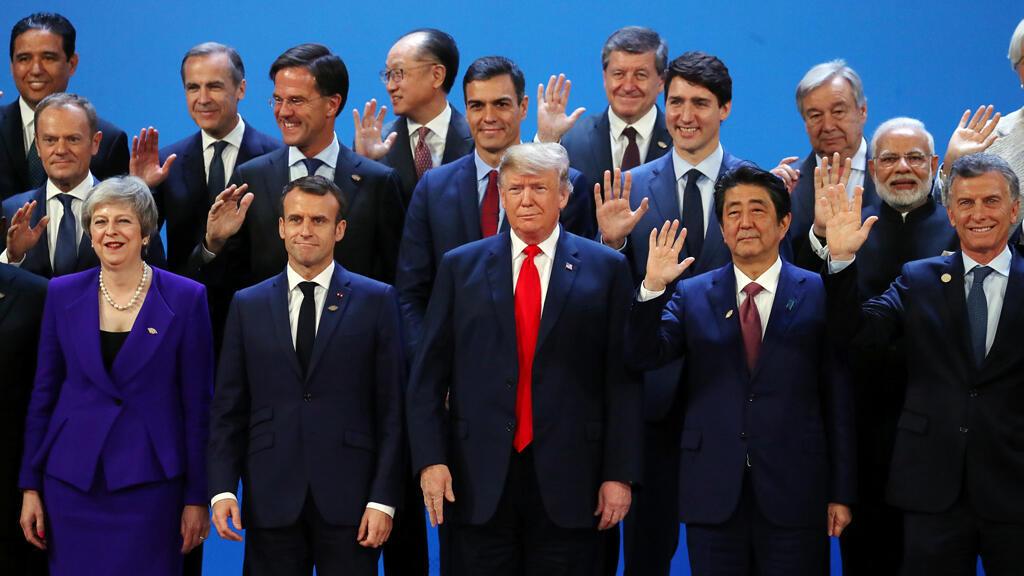 Los líderes asistentes a la cumbre del G20 en Buenos Aires durante la foto familiar el pasado 30 de noviembre de 2018.