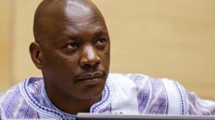 El exlíder miliciano congoleño Thomas Lubanga espera el veredicto de los jueces en la Corte Penal Internacional en La Haya, el 1 de diciembre de 2014.