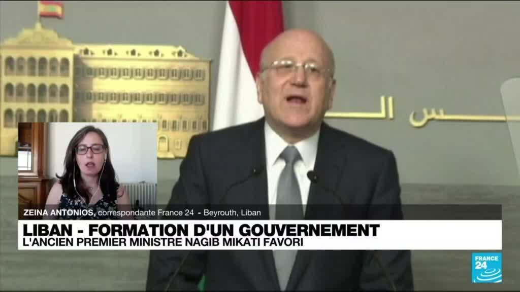 2021-07-26 07:12 Liban : l'ancien Premier ministre Nagib Mikati, favori pour former un gouvernement