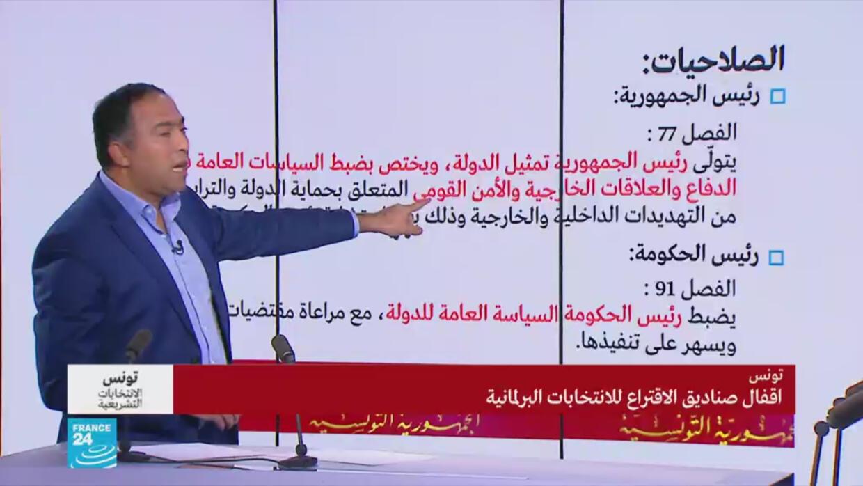 الانتخابات التشريعية التونسية: ما هي صلاحيات كل من رئيس الحكومة ورئيس الجمهورية؟