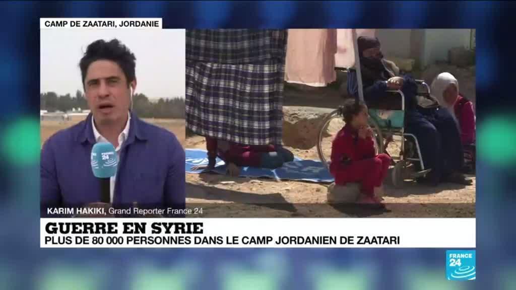 2021-03-15 10:37 10 ans de guerre en Syrie : Zaatari, le plus grand camp de réfugiés syriens du monde