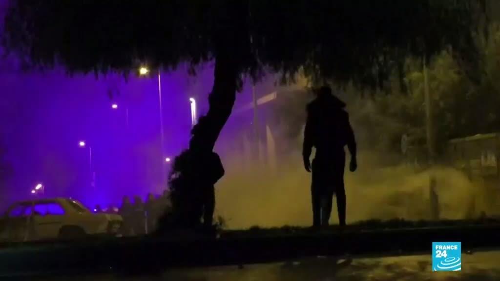 2021-01-29 00:05 Más de 200 personas heridas en Trípoli tras los enfrentamientos de manifestantes con la Policía