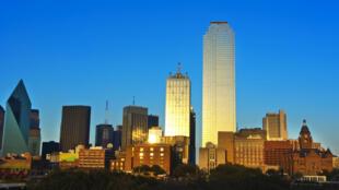 La ville de Dallas, aux États-Unis.