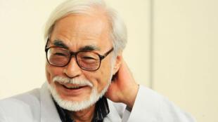 Le réalisateur Hayao Miyazaki.