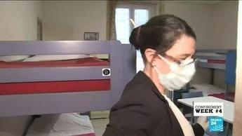 France reported a 30 percent rise in domestic abuse cases in the first week of the country's coronavirus lockdown.