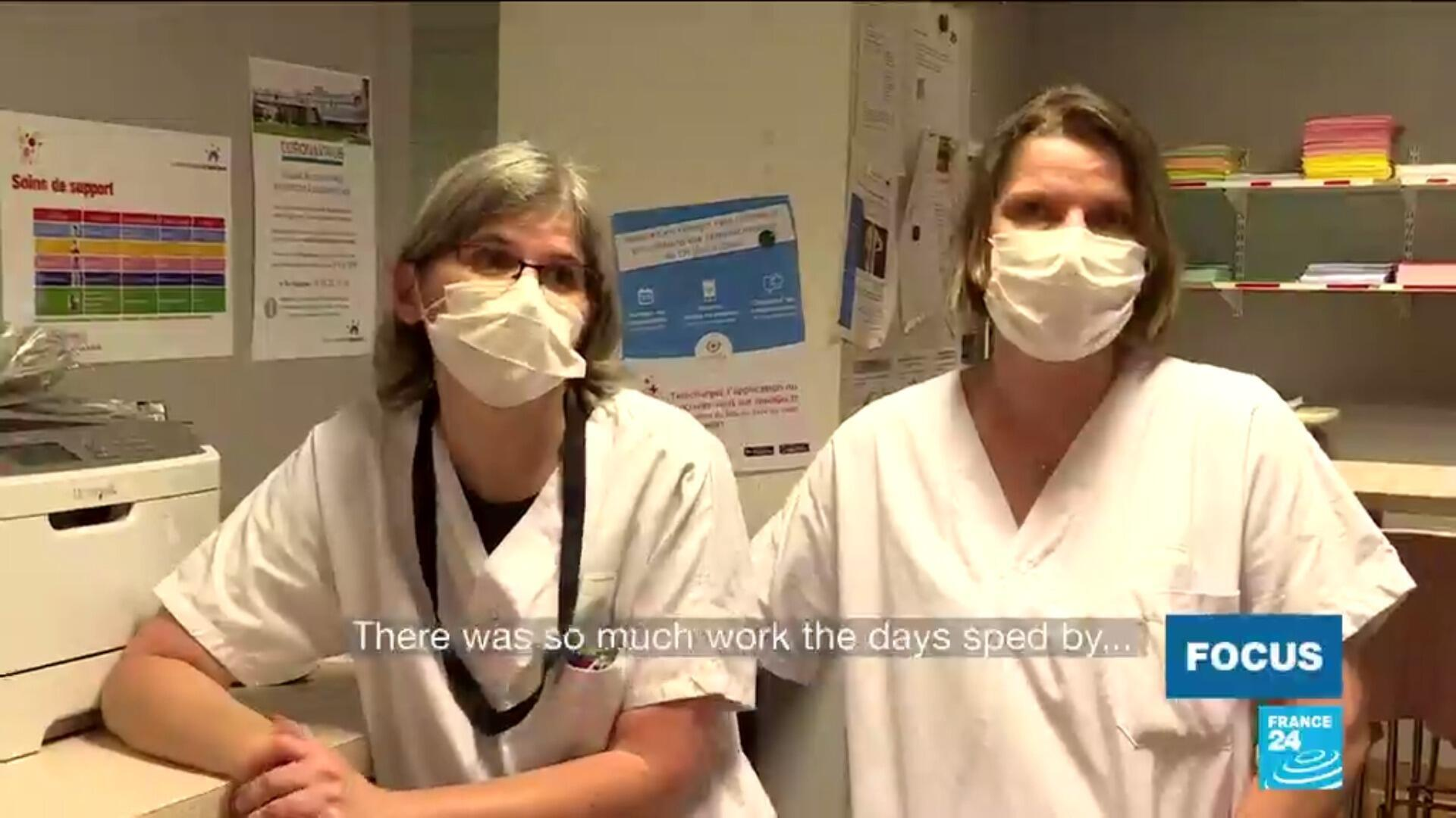 FOCUS 2 nurses Paris hospital