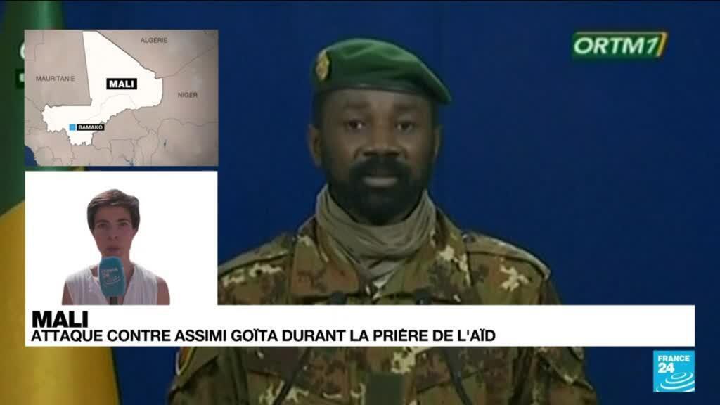 2021-07-20 13:01 Mali : tentative d'assassinat contre le président par intérim