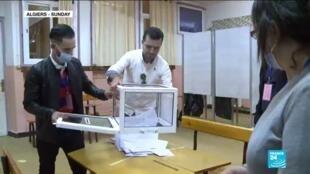 2020-11-02 10:07 Historic low turnout for Algerian referendum decried as sham