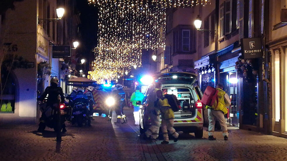 Strasbourg Christmas Market Shooting.Strasbourg Christmas Market Shooting Suspect Killed Say