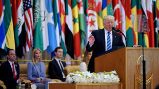 Donald Trump le 21 mai 2017, à Riyad.