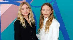 Les célèbres jumelles Mary-Kate et Ashley Olsen.