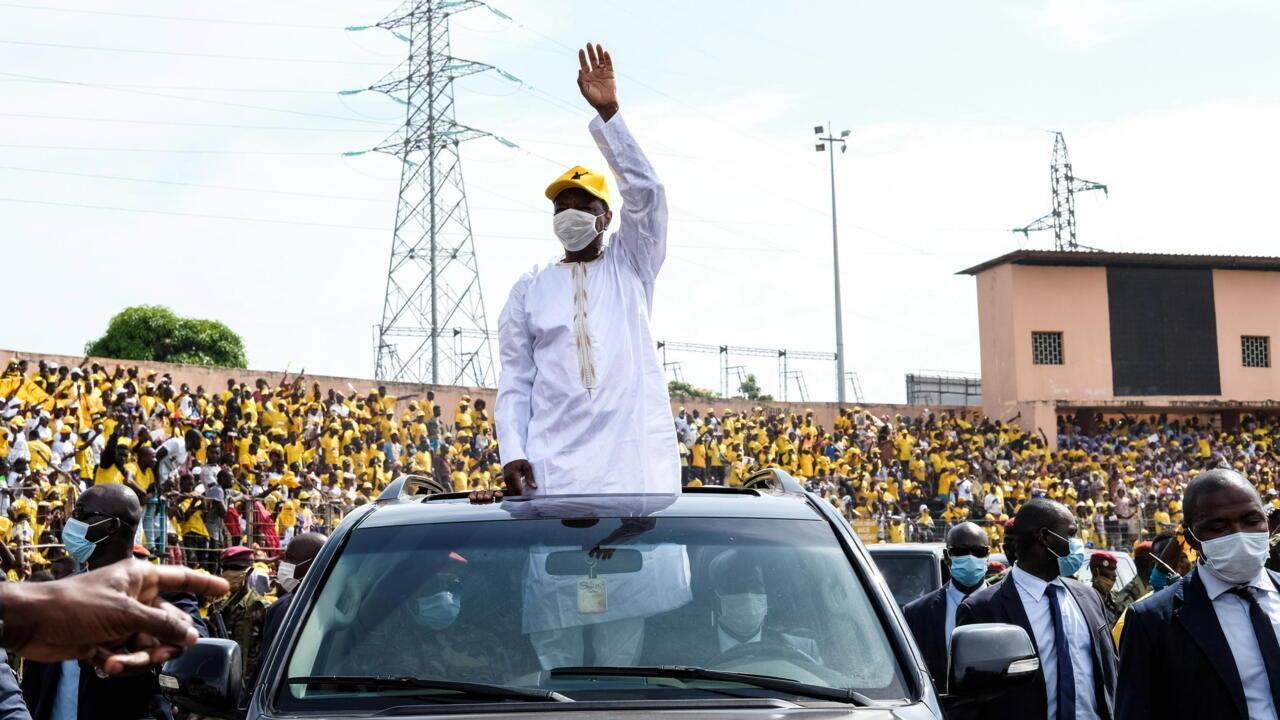Guinea's Condé faces longtime rival Diallo as country heads to the polls
