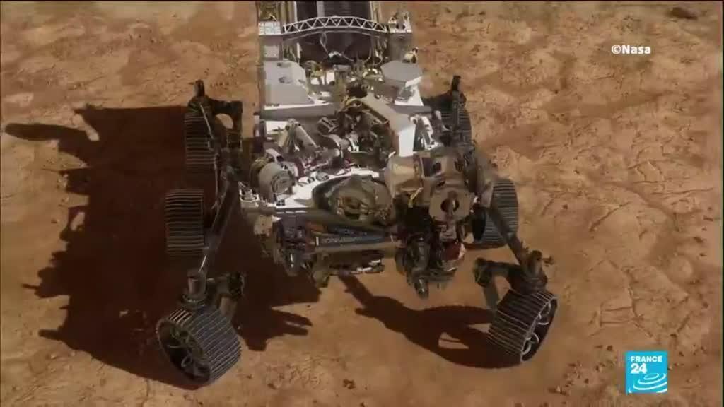2021-02-19 15:12 Robot Perseverance sur Mars : atterrissage historique réussi pour le rover de la NASA