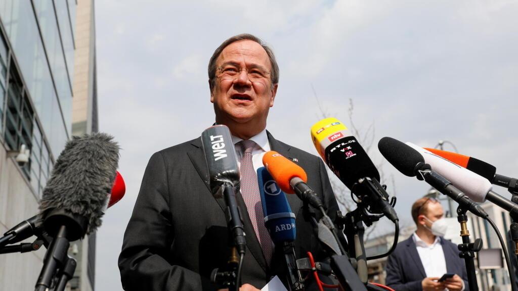Germany's CDU backs Armin Laschet as Merkel's successor