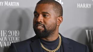 مغني الراب الأميركي كانييه ويست في 6 تشرين الثاني/نوفمبر 2019 في نيويورك.