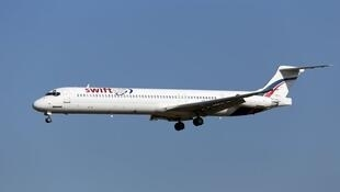 Le McDonnell Douglas MD-83 de la compagnie espagnole Swiftair. Ici, un modèle similaire à celui qui s'est écrasé jeudi.