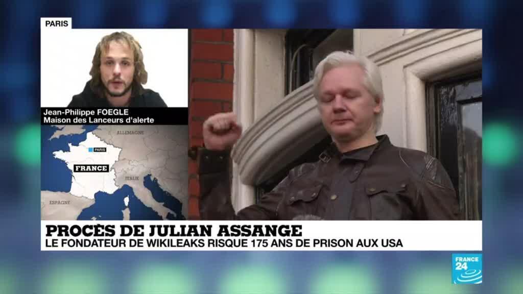 """2020-09-07 21:06 Jean-Philippe Foegle : """"Si Julian Assange était extradé, toute personne qui révèle des informations pourrait l'être"""""""